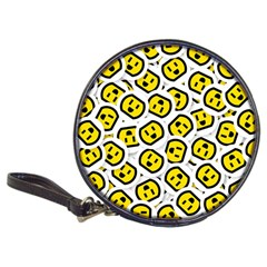 Face Smile Yellow Copy Classic 20-CD Wallets
