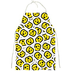 Face Smile Yellow Copy Full Print Aprons