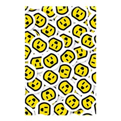 Face Smile Yellow Copy Shower Curtain 48  x 72  (Small)