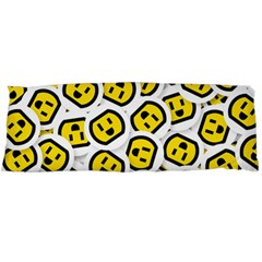 Face Smile Yellow Copy Body Pillow Case (Dakimakura)