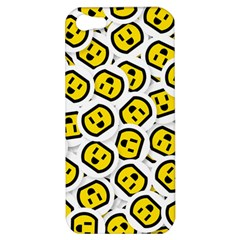 Face Smile Yellow Copy Apple iPhone 5 Hardshell Case