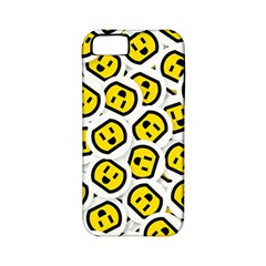 Face Smile Yellow Copy Apple iPhone 5 Classic Hardshell Case (PC+Silicone)