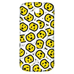 Face Smile Yellow Copy Samsung Galaxy S3 S III Classic Hardshell Back Case
