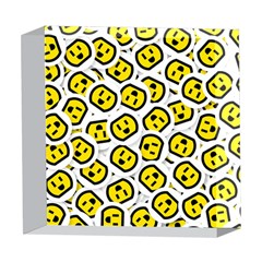 Face Smile Yellow Copy 5  x 5  Acrylic Photo Blocks