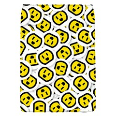 Face Smile Yellow Copy Flap Covers (S)