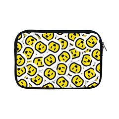 Face Smile Yellow Copy Apple iPad Mini Zipper Cases