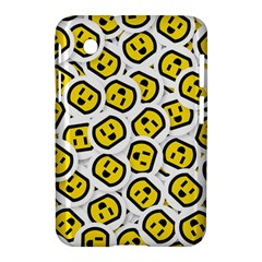 Face Smile Yellow Copy Samsung Galaxy Tab 2 (7 ) P3100 Hardshell Case