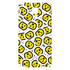 Face Smile Yellow Copy Galaxy Note 4 Back Case