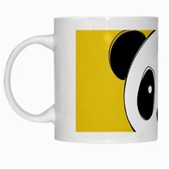 Face Panda Cute White Mugs