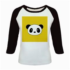 Face Panda Cute Kids Baseball Jerseys
