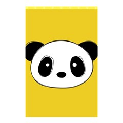 Face Panda Cute Shower Curtain 48  x 72  (Small)