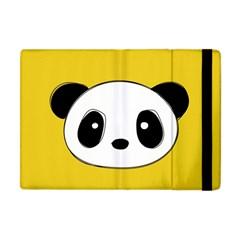 Face Panda Cute Apple iPad Mini Flip Case