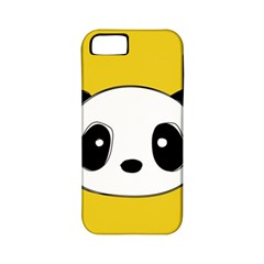 Face Panda Cute Apple iPhone 5 Classic Hardshell Case (PC+Silicone)