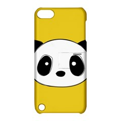 Face Panda Cute Apple iPod Touch 5 Hardshell Case with Stand
