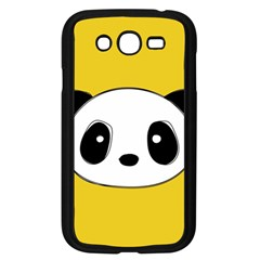 Face Panda Cute Samsung Galaxy Grand DUOS I9082 Case (Black)