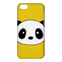 Face Panda Cute Apple iPhone 5C Hardshell Case