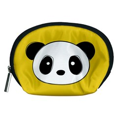 Face Panda Cute Accessory Pouches (Medium)
