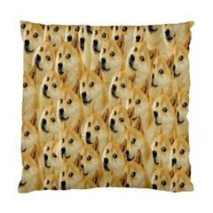Face Cute Dog Standard Cushion Case (Two Sides)