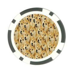 Face Cute Dog Poker Chip Card Guards (10 pack)