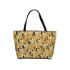 Face Cute Dog Shoulder Handbags