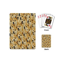 Face Cute Dog Playing Cards (Mini)