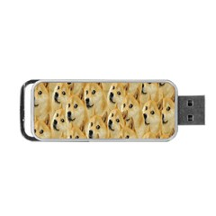 Face Cute Dog Portable USB Flash (Two Sides)