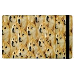 Face Cute Dog Apple iPad 3/4 Flip Case