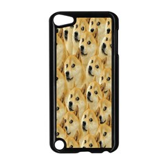 Face Cute Dog Apple iPod Touch 5 Case (Black)
