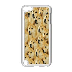Face Cute Dog Apple iPod Touch 5 Case (White)