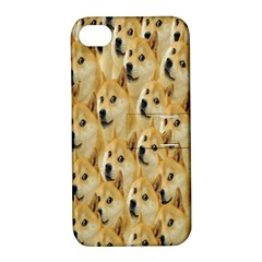 Face Cute Dog Apple iPhone 4/4S Hardshell Case with Stand