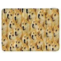 Face Cute Dog Samsung Galaxy Tab 7  P1000 Flip Case