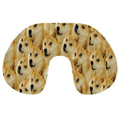 Face Cute Dog Travel Neck Pillows