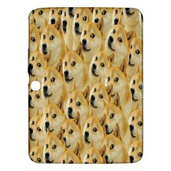 Face Cute Dog Samsung Galaxy Tab 3 (10.1 ) P5200 Hardshell Case