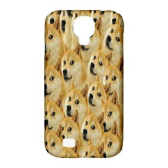 Face Cute Dog Samsung Galaxy S4 Classic Hardshell Case (PC+Silicone)