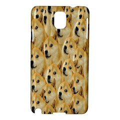 Face Cute Dog Samsung Galaxy Note 3 N9005 Hardshell Case