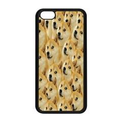 Face Cute Dog Apple iPhone 5C Seamless Case (Black)