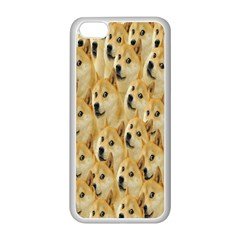 Face Cute Dog Apple iPhone 5C Seamless Case (White)