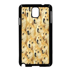 Face Cute Dog Samsung Galaxy Note 3 Neo Hardshell Case (Black)