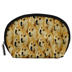 Face Cute Dog Accessory Pouches (Large)