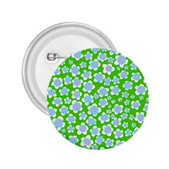Flower Green Copy 2.25  Buttons