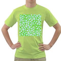 Flower Green Copy Green T-Shirt
