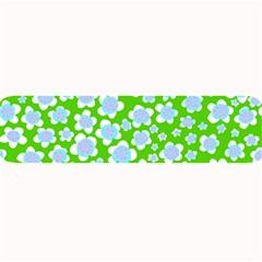 Flower Green Copy Large Bar Mats