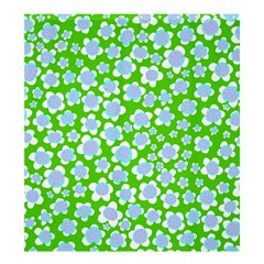 Flower Green Copy Shower Curtain 66  x 72  (Large)