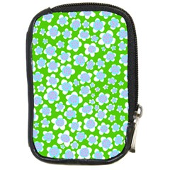 Flower Green Copy Compact Camera Cases