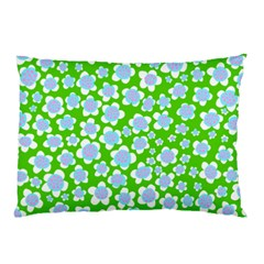 Flower Green Copy Pillow Case (Two Sides)