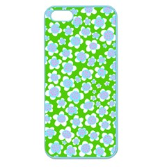 Flower Green Copy Apple Seamless iPhone 5 Case (Color)