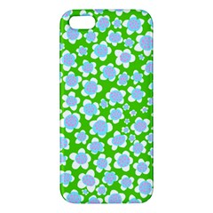 Flower Green Copy Apple iPhone 5 Premium Hardshell Case