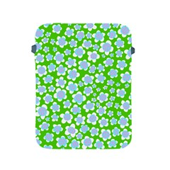 Flower Green Copy Apple iPad 2/3/4 Protective Soft Cases
