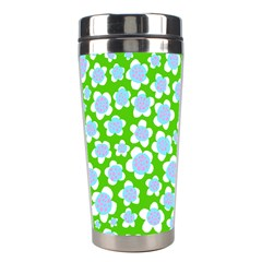 Flower Green Copy Stainless Steel Travel Tumblers