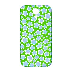 Flower Green Copy Samsung Galaxy S4 I9500/I9505  Hardshell Back Case